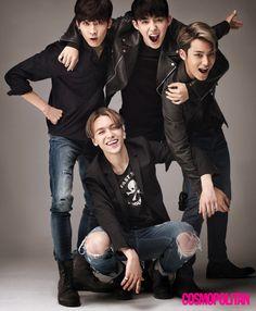 SEVENTEEN : Wonwoo, S.Coups, Mingyu et Vernon évoquent leur image hip-hop avec Cosmopolitan