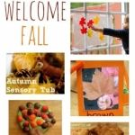 Shake up some autumn art for toddlers | BabyCentre Blog