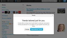 Twitter mostrará los trending topics en función del perfil del usuario http://www.genbeta.com/p/69546
