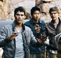 #TheScorchTrials Maze Runner Trilogy, Maze Runner Cast, Maze Runner Series, The Scorch Trials, James Dashner, Thomas Brodie Sangster, Dylan O'brien, Book Fandoms, Hunger Games