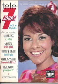 Télé 7 Jours 396 Denise Fabre - Achat vente neuf occasion