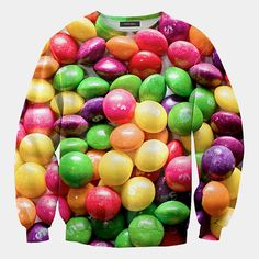 Wear some skittles on your sleeve... or your whole shirt