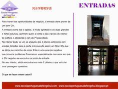 Escola Portuguesa de Feng Shui: ENTRADAS