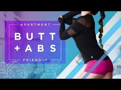 I love working my glutes and my abdominals! It's so easy to get strong abs and a lifted booty without using any equipment. You can do these moves anywhere - at home, in your bedroom, in the living roo