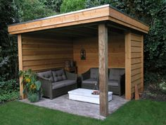 Pergola For Small Patio Outdoor Gazebos, Backyard Gazebo, Garden Gazebo, Backyard Patio Designs, Pergola Designs, Outdoor Rooms, Backyard Landscaping, Backyard Privacy, Gazebo Canopy