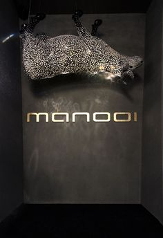 Euroluce 2017, Manooi's booth #Manooi #Chandelier #CrystalChandelier #Design #Lighting #MilkyWay #crystal #cow #Euroluce #Euroluce2017 #exhibition