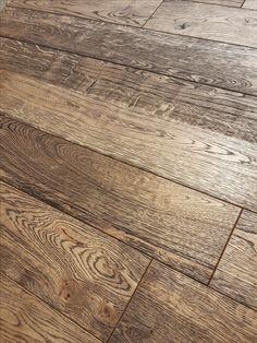 Masívna drevená podlaha Slavonian Dub Brown Markant 4V, olej,hlboký ka