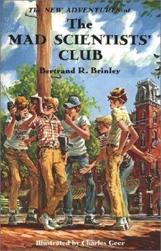 The New Adventures of the Mad Scientists' Club (Mad Scientist Club) by Bertrand R. Brinley, http://www.amazon.com/dp/1930900112/ref=cm_sw_r_pi_dp_tPyZrb1QEAR1M