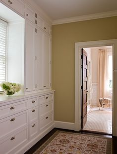 Great hallway built-ins - for bedroom or butler's pantry