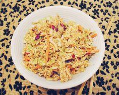 mom makes this ramen noodle salad