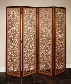 laser cut panel | laser cut Ornate-Damask-Fllorscreen | Flickr - Photo Sharing!