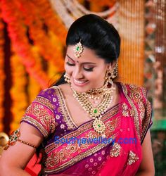 Actress Sneha's Complete Wedding Jewellery