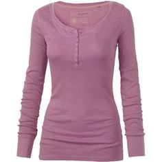 An original shape makes a comeback this season as an experienced member of the crew! comfy ribbed jersey top with that tried and trusted henley neckline stylin… Henley Top, Henley Shirts, Twilight Outfits, Layered Tops, Vogue, Casual Tops, Long Sleeve Tops, Cute Outfits, Fat Face