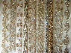 Vintage Inspired Crystal Embellished Dress Sashes & Belts « Weddingbee Classifieds