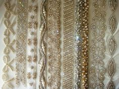 Vintage Inspired Crystal Embellished Dress Sashes & Belts « Weddingbee Classifieds