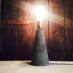 Concrete lamp cows