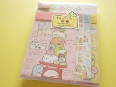 Kawaii Cute Letter Set *Sumikkogurashi Pictorial Book 32 Letter paper (4 designs)16 Envelope  (4 des…
