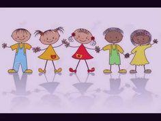 Illustration of Children graphic vector art, clipart and stock vectors. Baby Dance Songs, Dancing Baby, Kids Songs, School Murals, Music School, Music Classroom, Classroom Ideas, Music For Kids, Kids Writing