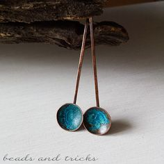 Forme pure e un tocco di blu | Handmade by Beads and Tricks