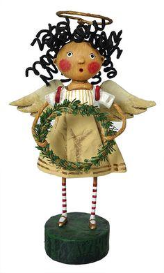Prissy Pumpkin Eater Figurine by Lori Mitchell NEW