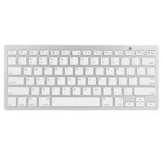 Bluetooth Wireless White Keyboard For Macbook Mac iPad iPhone  Worldwide delivery. Original best quality product for 70% of it's real price. Hurry up, buying it is extra profitable, because we have good production sources. 1 day products dispatch from warehouse. Fast & reliable...