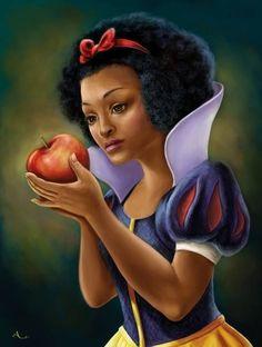 The Black Snow White