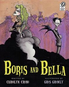 Beware the romance of the gruesome. For when Boris Kleanitoff and Bella Lagrossi lock horns, gouged eye-balls are sure to roll. And absolute all-time favourite in my household, we adore the illustrations, the wit, the attention to detail and the astonishingly funny sequences.