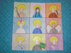 ways All Saints Day Crafts Kids to celebrate all saintsu day with your family elizabeth printable saint report page for catholic - Art Craft Ideas