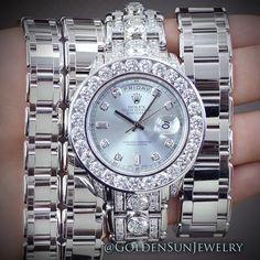 Diamonds ladies Rolex