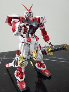 Astray Red Frame, Perfect Grade, Gundam Astray, Kai, Superhero, Character, Lettering, Chicken