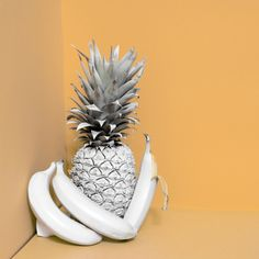 TWIN KOI blog has done a piece on sustainable fabrics made from fruit fibers! WOAH V COOL V ECO FRIENDLY We love the idea of adding fruit imagery, but with a quirky twist. Minimal set design is out jam <3 That pineapple tho STILL LIFE PROS