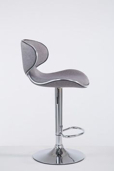 Light Grey Fabric Bar Stool Metal Frame Cafe Pub Hotel Kitchen Seat High Chair for sale online Hotel Kitchen, Kitchen Seating, Chairs For Sale, Grey Fabric, Bar Stools, Metal, Frame, Home Decor, Bar Stool Sports