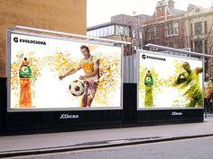 Gatorade Evoluciona  New Line G series  Illustration for 2 advertising campaigns for Gatorade