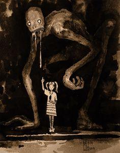 arte oscuro Visual Necromancy: The Amazing Art By Boris Groh Creepy Drawings, Dark Art Drawings, Fantasy Kunst, Dark Fantasy Art, Dark Art Illustrations, Illustration Art, Images Terrifiantes, Arte Dark Souls, Horror Drawing