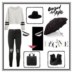 """Rainy Day"" by amraaaaa ❤ liked on Polyvore featuring AMIRI, Gizelle Renee and Blondo"