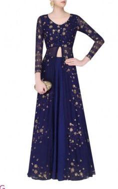 >>>Cheap Sale OFF! >>>Visit>> Indian anarkali pakistani sequins zari embroidery long kameez skirt size L dress Lehenga Designs, Kurta Designs, Blouse Designs, Latest Lehnga Designs, Indian Gowns, Indian Attire, Pakistani Dresses, Indian Outfits, Indian Anarkali