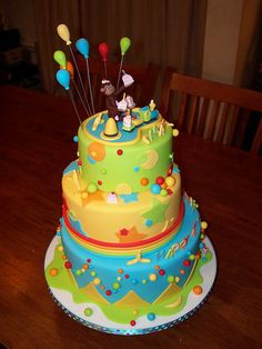 curious george cake | Curious George cake by Andrea's SweetCakes