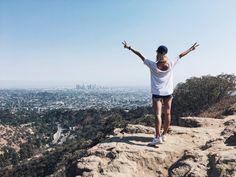 Widok na Los Angeles w drodze na Mt. Hollywood