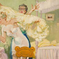 Alexander Sharpe Ross – Pin Up Girls Pin Up Girl Vintage, Vintage Art, Magazine Illustration, Alex Ross, Magazine Art, Magazine Covers, Watercolor Illustration, Get Dressed, Illustrators