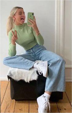 non-boring casual outfits ideas for teen💜 - non-boring casua . - Non-Boring Casual Outfits Ideas for Teens💜 – Non-Boring Casual Outfits Ideas for Teens - Look Fashion, Teen Fashion, Fashion Outfits, Fashion Trends, Winter Fashion, Fashion Tips, Urban Fashion, Retro Fashion, Fashion Ideas