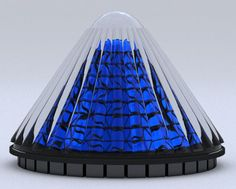 V3Solar's Spinning Photovoltaic Cones Capture Sunlight All Day Long