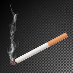 Realistic Cigarette With Smoke Vector Isolated Illustration Burning Classic Smoking Cigarette On Transparent Background Vector and PNG Background Wallpaper For Photoshop, Photo Background Images Hd, Smoke Background, Studio Background Images, Blur Image Background, Picsart Background, Smoke Vector, Fire Vector, Black Background Photography