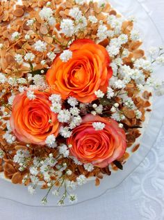 Food for thought: Τούρτα μανταρίνι Food For Thought, Floral Wreath, Sweet Home, Decor, Kitchens, Floral Crown, Decoration, House Beautiful, Decorating
