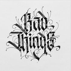 Boy do I love some blackletter. Type by @typewa - #typegang - free fonts at typegang.com | typegang.com #typegang #typography