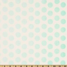 Riley Blake Ombre Dot Aqua, $9/yd...would make really cool curtains