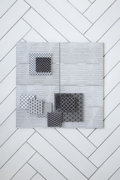 Mix of various patterns from Made a Mano.