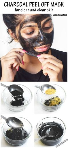 BEAUTY+DIY:+CHARCOAL+PEEL+OFF+MASK+FOR+CLEAN+AND+CLEAR+SKIN