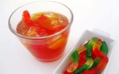 Witch's Brew Iced Tea Halloween Drink