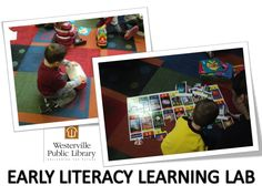 Early Literacy Lab ideas and books to support the big six skills