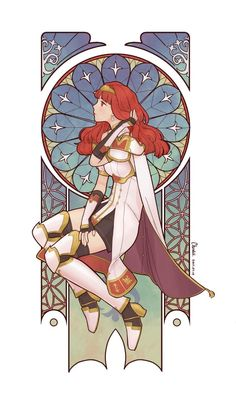 Illustration & Cats — My drawings of Celica and Alm Chibi, Shadow Dragon, Fire Emblem Characters, Blue Lion, Fire Emblem Fates, Fire Emblem Awakening, Tarot, Game Art, Fantasy Art